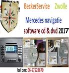 DVD - CD Mercedes updates Comand Audio 50 Aps navigatie 2017