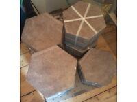 7 sq m worth of Marshall's Hexagonal Tiles. Brand new.