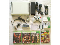Xbox 360 HDMI 60gb with official wireless controller, games and more!!!