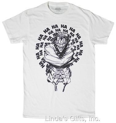 Men's DC Comics Joker Joking Straight Jacket T-Shirt