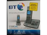 BT2500 Digital Cordless Phone with Answer Machine