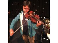 Violin lessons for beginners and improvers