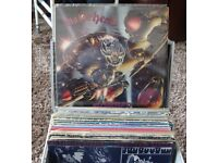 JOB LOT OF ROCK RECORDS 35 IN TOTAL OFFERS