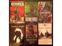 6 Assorted 'Warhammer' Softback Novels (mostly 40k)