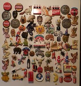 ONE OF A KIND, 108 PIECE FRIDGE MAGNET COLLECTION