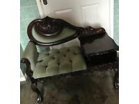 Mahogany phone table
