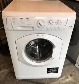Hotpoint HY8L251 8kg 1200 Spin White LCD A Rated Washing Machine 1 YEAR GUARANTEE FREE FITTING