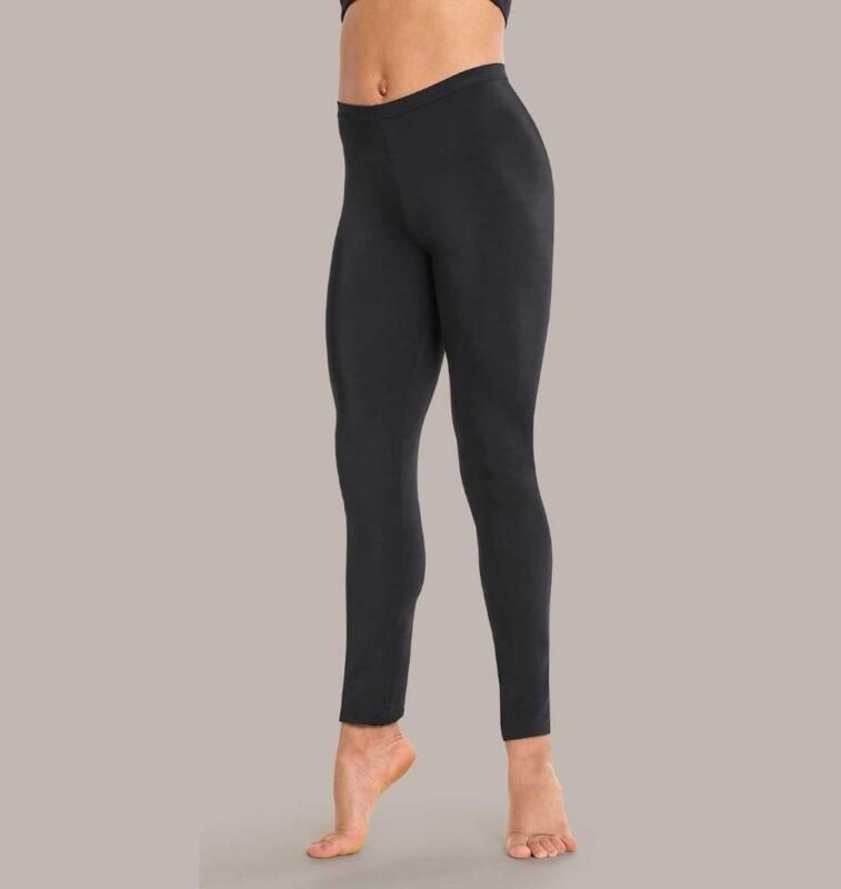 Dance Pants Leggings Large Child Black Lycra Ballet Tap Jazz Gymnastics