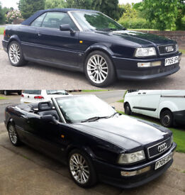 Classic Audi 80 convertible, economical, reliable new MOT, perfect working order, no issues, FSH