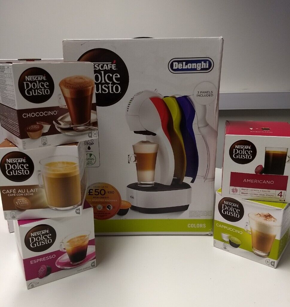 Delonghi Dolce Gusto Coffee Machine With Pods And Pod Holder In Greenford London Gumtree