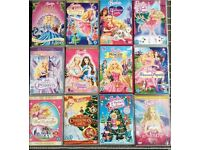 Barbie DVD's 12 off bundle £8 o.n.o.