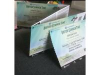 Green day tickets for 1st July, British summer time festival