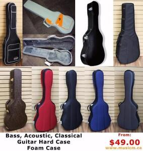 Acoustic, Classical, Electric, Bass Guitar Bag Case, Ukulele Case, Piano Keyboard Case Violin Case, Cello Hard Case
