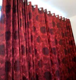 Modern curtains blackout