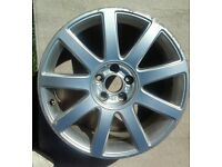 Audi Alloy wheel. Size 17 inch from Audi A2 Sport.