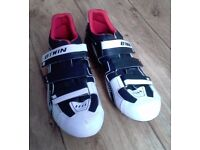 Btwin sport 5 road cycling shoes, size 8.5 (UK)