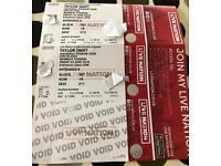 Taylor Swift tickets - Wembley 22nd June.