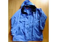 Light blue Regatta jacket size 12