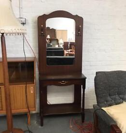 ** HALL STAND MIRROR - IN GOOD CONDITION **