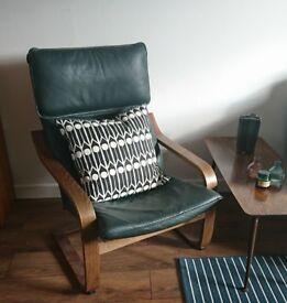 Ikea Poang Retro Armchair