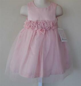 Bonnie baby new dress sz 12 18 months girl clothes church for 12 month dresses for wedding