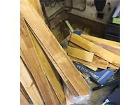 GONE, PENDING COLLECTION- Free wooden floorboards