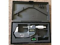 """1-2""""/25-50mm mitutoyo coolant proof micrometer"""