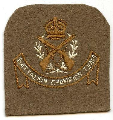 WWI Australian Army Cadets Battalion Champion Shooting Team Patch (1910 - 1922)