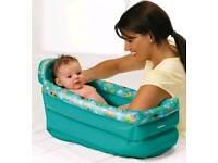 Tony inflatable baby bath