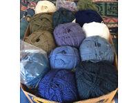 Huge Job lot of Aran wool –14 x 400g balls