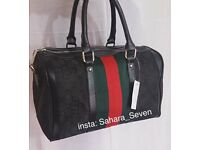 Women Gucci boston red green handbag striped bag £35