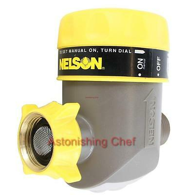 NELSON AUTOMATIC SHUT-OFF TIMER MECHANICAL YARD WATERING HOSE SHUTOFF - Nelson Automatic Waterers
