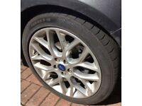 235 40/R18 CONTINENTAL CONTISPORT CONTACT 3 TYRES x3