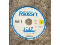 Nintendo Wii sports resort game