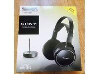 Sony MDR-RF810RK Wireless Headphones ( used )