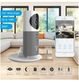 Clever Dog 2nd Generation 960P 120°Wide Angle Lens Wireless security wifi camera Support Max 128GB