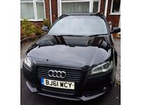 2011 Audi A3 2.0 Tdi S-line Black Edition Full Audi service history apart from last 1 Vag Specialist