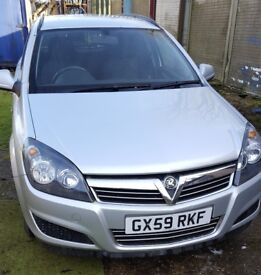 2009 Silver Vauxhall Astra Van Sportive 1.9 CD Ti, Diesel, Air Con, 6 Speed Gearbox, 12 months MOT
