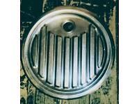 Round Stainless Steel Drainer