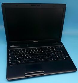 TOSHIBA C660 Laptop in excellent condition, 250gb Hard Drive, 2gb RAM, Windows 7 and Intel B800 CPU