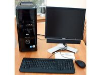 Dell XPS 430 with Dell Monitor, Keyboard & Mouse