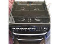 Stunning immaculate Cannon Harrogate black 60cm gas cooker FREE DELIVERY