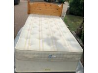Made to measure extra long double bed