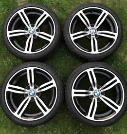 "Bmw alloys wheels 8J ET35 18"" 5x120MM"