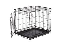 Small pet indoor cage/travel cage for cats and dogs