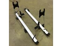 Two THULE 510 bicycle carriers