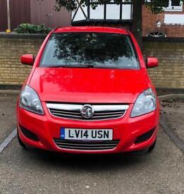Vauxhall Zafira 2014 1.7 Diesel 6 speed