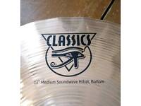 Used Meinl Soundwave Classic hi-hat BOTTOM CYMBAL ONLY