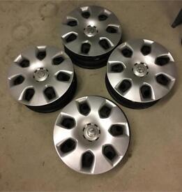 "Vauxhall Astra 2011 4x 16"" Alloy wheels with genuine wheel caps"