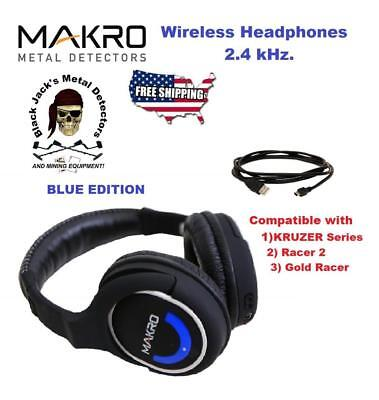 Makro - 2.4ghz. Wireless Headphones. Superior Sound. Authorized Makro Dealer